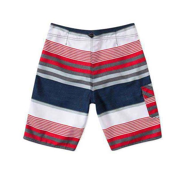 O'Neill - Santa Cruz Stripe Boardshorts - Boy's: Dark Navy, 22