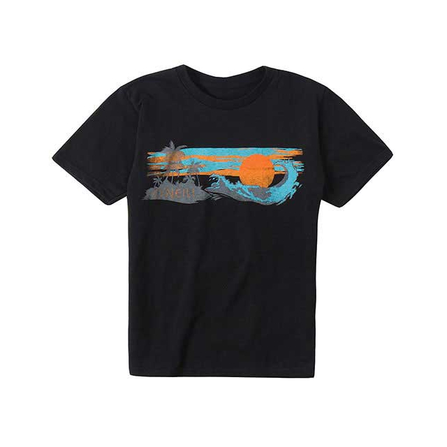 O'Neill - For Shore Tee - Boy's: Black, Small
