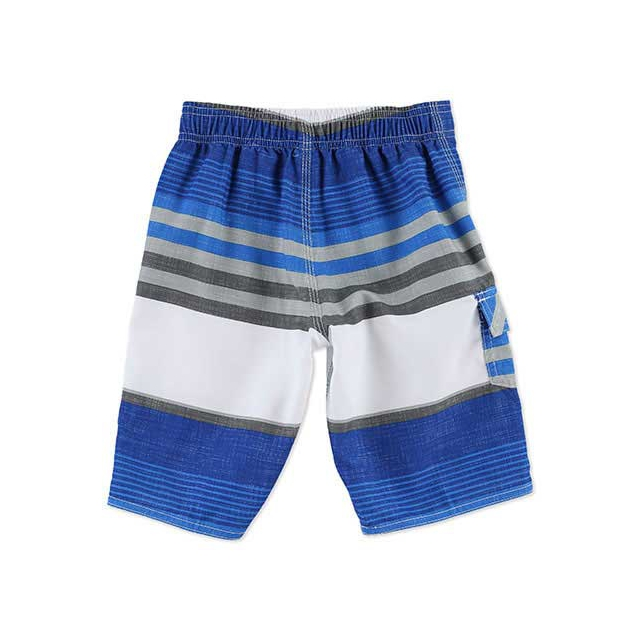 O'Neill - Santa Cruz Stripe Boardshorts - Little Boy's: Bright Blue, Small