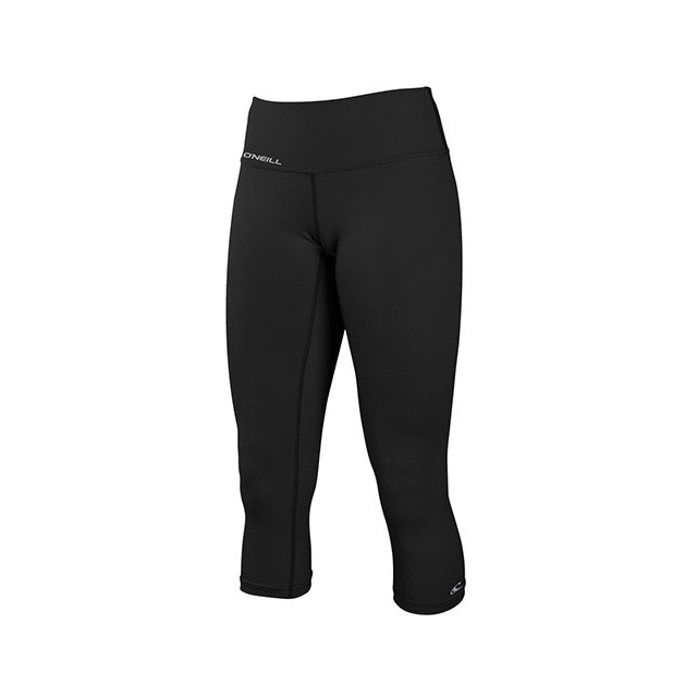 O'Neill - Skins Surf Capri - Women's: Black, Small