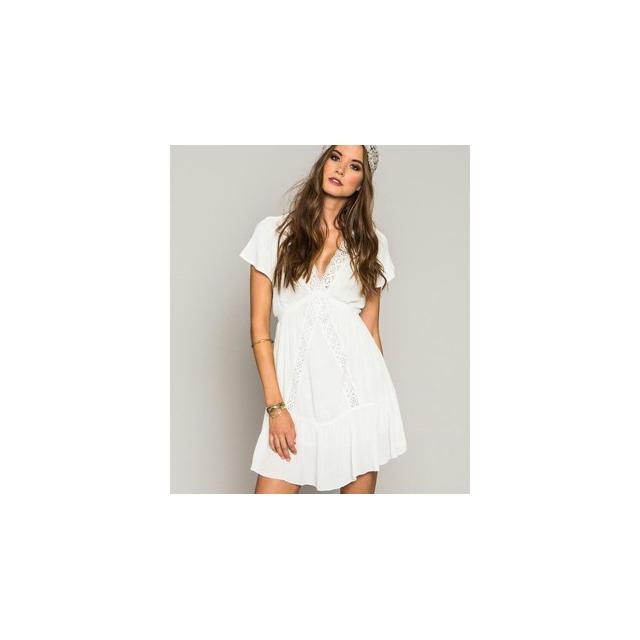 O'Neill - London Dress - Women's-Winter White-L