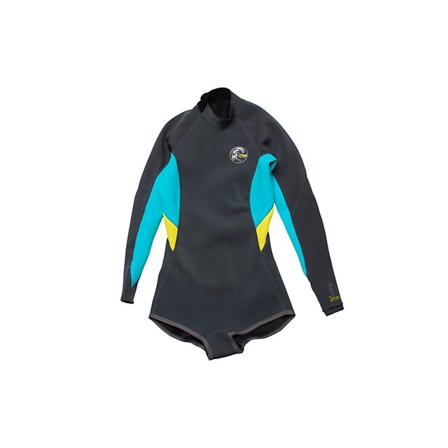O'Neill - Bahia Long Sleeve Short Spring Womens Shorty Wetsuit 2015