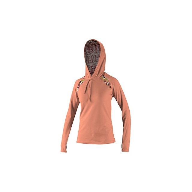 O'Neill - Skins Long Sleeve Print Hoodie Womens Rash Guard