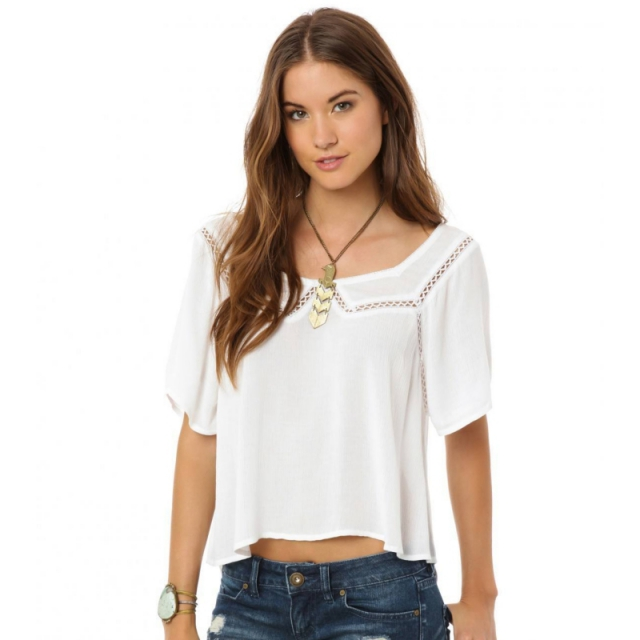 O'Neill - Sharon Top - Closeout White Large