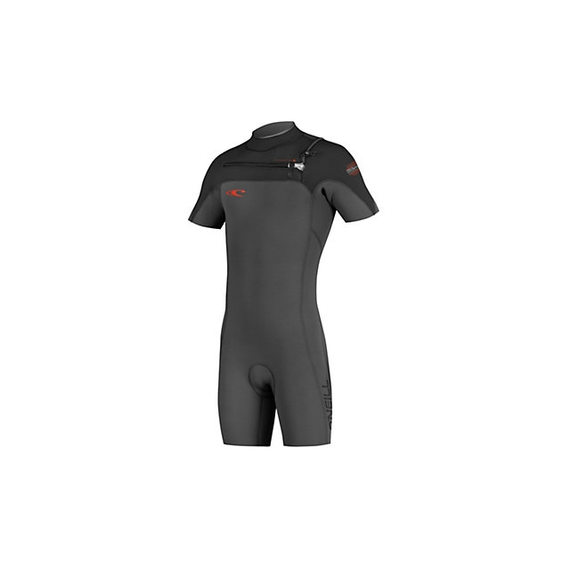 O'Neill - HyperFreak Full Zip Short Sleeve Shorty Wetsuit 2016