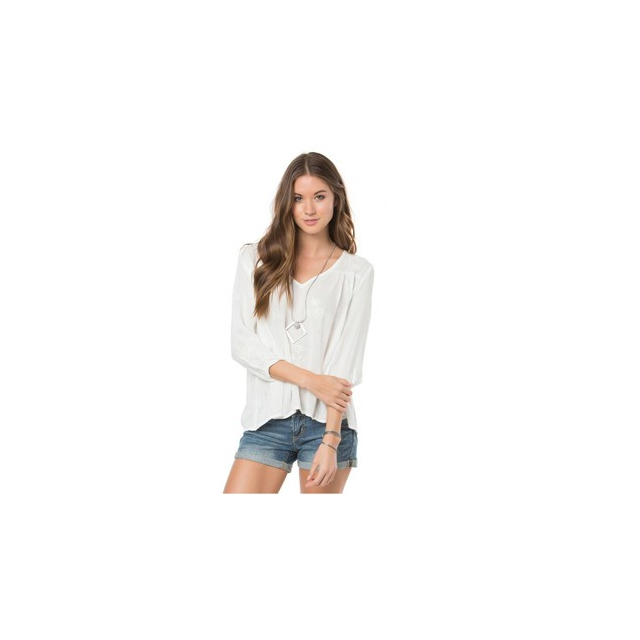 O'Neill - O'Neill Caroline Shirt - Women's-White-L