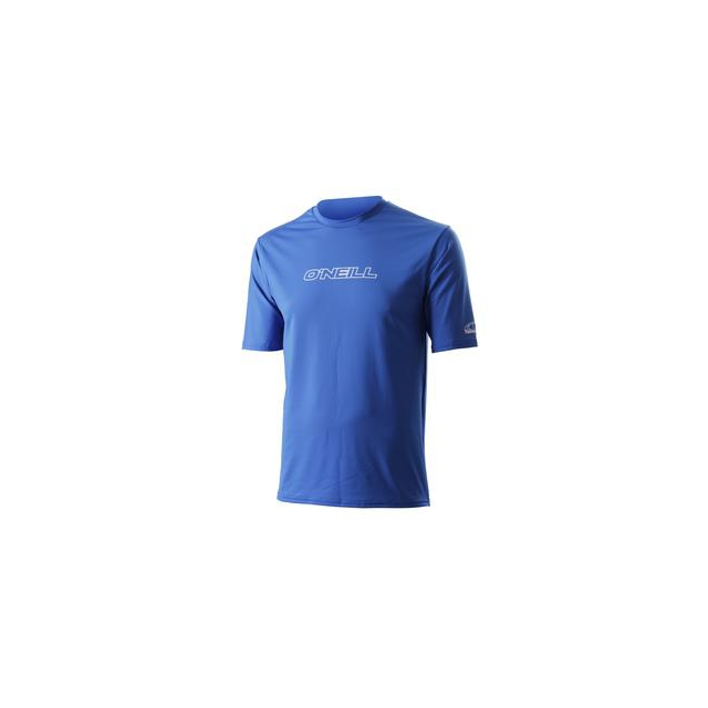 O'Neill - Skins Basic Rashguard T-Shirt Men's, Royal, L