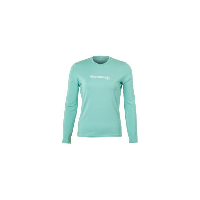 O'Neill - Basic Long Sleeve Rash T-Shirt Women's, Aqua, L