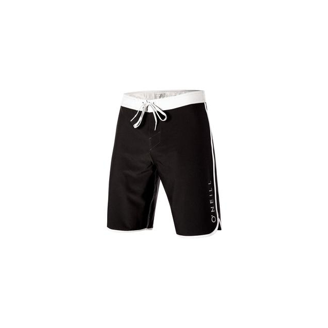 O'Neill - Santa Cruz Scallop Boardshorts Men's, Black, 38