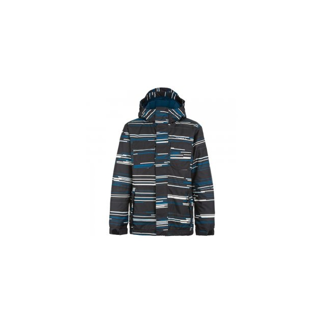 O'Neill - Grid Insulated Snowboard Jacket Boys', Blue Grid, 6X