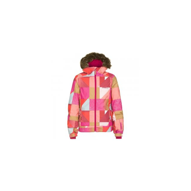 O'Neill - Tigereye Insulated Snowboard Jacket Girls', Orange Pop, 10