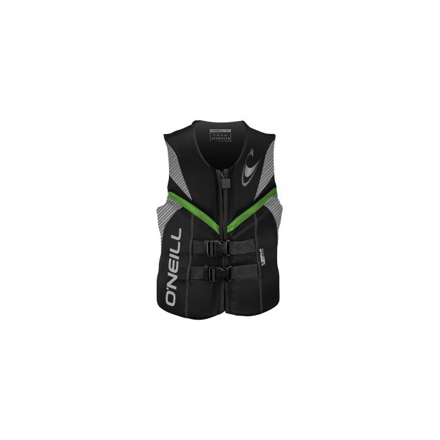 O'Neill - Reactor USCG Life Vest Men's, Black, S