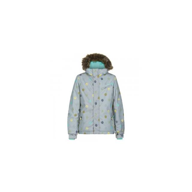 O'Neill - Radiant Insulated Snowboard Jacket Girls', Grey AOP, 6X