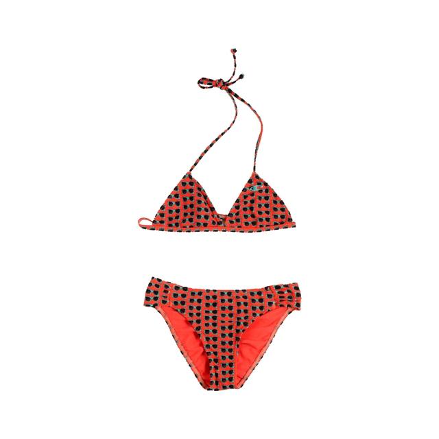 O'Neill - Kids Shade Triangle Bikini Set - Girl's: Coral, 12
