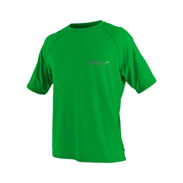 O'Neill - 24/7 Tech Short Sleeve Crew - Men's: Green, Large