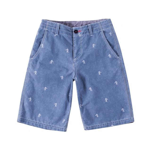 O'Neill - Voodoo Hybrid Shorts - Boy's: Blue, 22