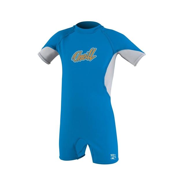 O'Neill - O'Zone Spring Wetsuit - Toddler Boy's: Bright Blue/Lunar/Blaze, 2T