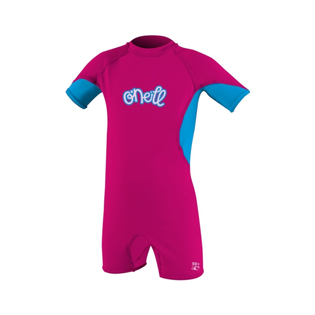 O'Neill - O'Zone Spring Wetsuit - Toddler Girl's: Watermelon/Tahiti/Lunar, 2T
