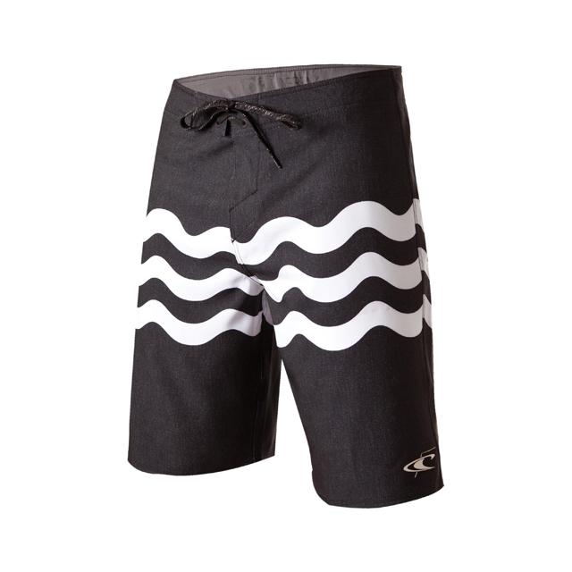 O'Neill - Jordy Freak Board Shorts - Men's: Black, 30