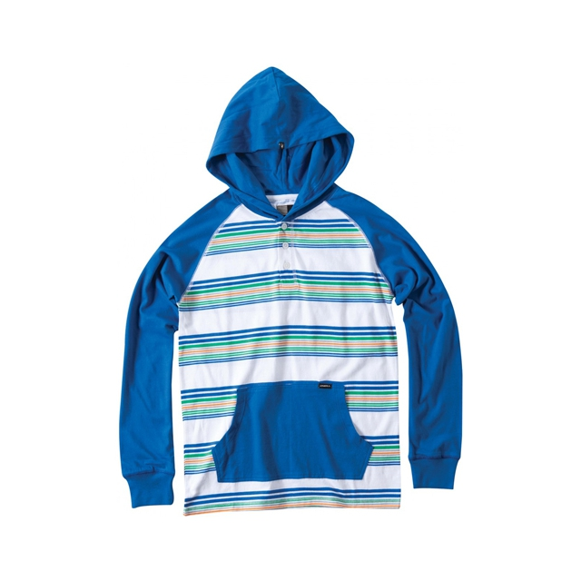 O'Neill - Kenny Hooded Shirt - Boy's: Royal, Small