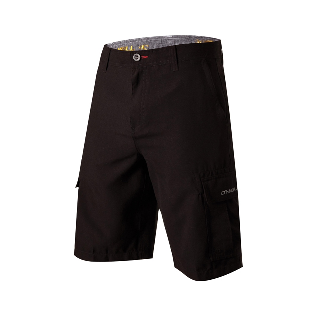 O'Neill - Cavalry Hybrid Shorts - Men's: Black, 32