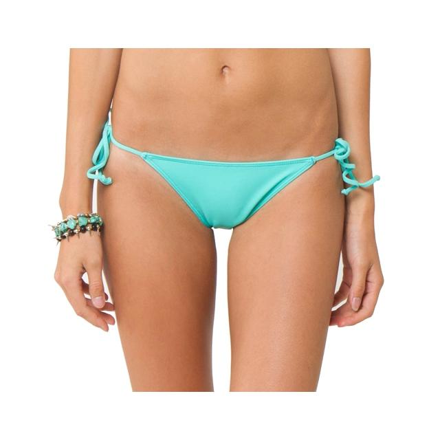 O'Neill - Solids Tie Side Bikini Bottom - Women's: Light Aqua, Small