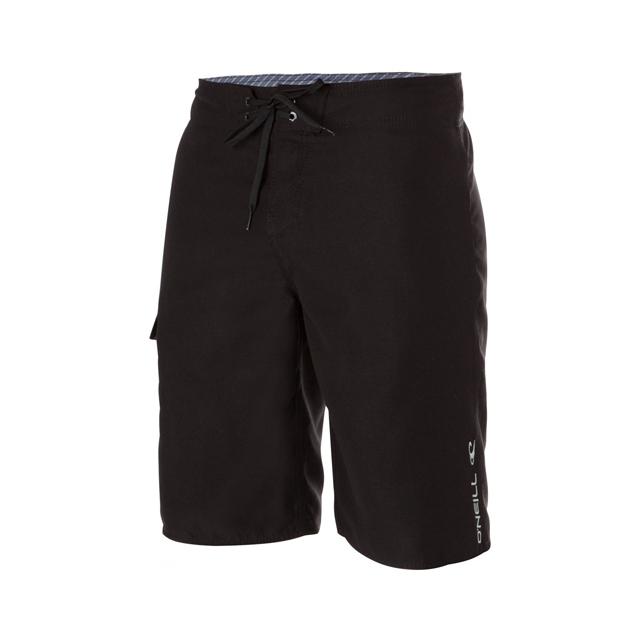 O'Neill - Santa Cruz Solid Board Shorts - Men's: Black, 30