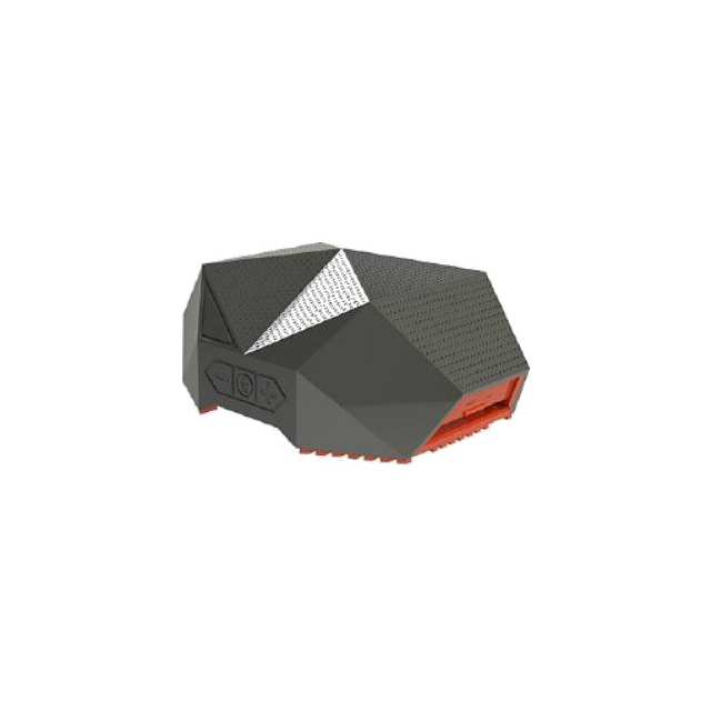 Outdoor Technology - - TURTLE SHELL 3.0 - Gray/Orange