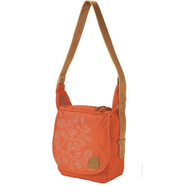 Overland - - Bidwell Shoulder Bag - Tangerine/Sand