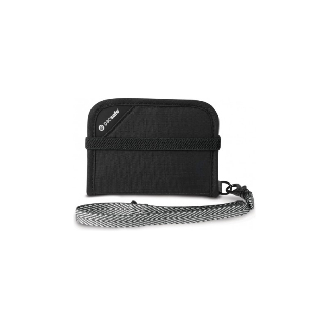Pacsafe - RFIDsafe V50 Compact Wallet - New Black