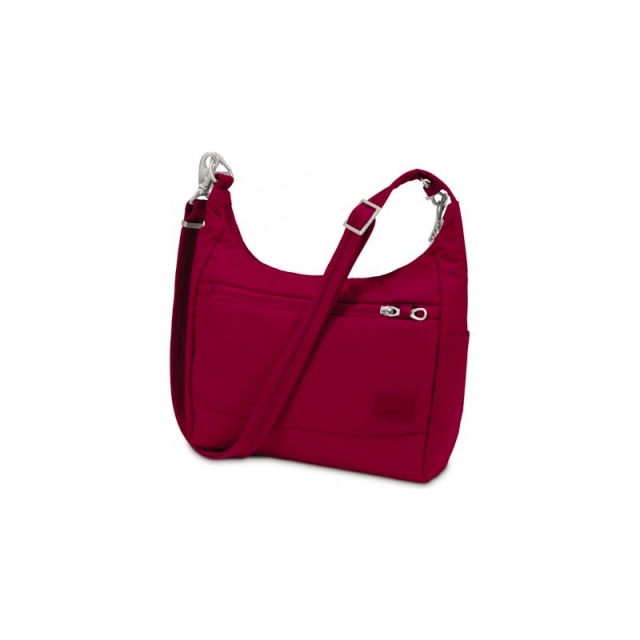Pacsafe - Citysafe CS100 Shoulder Bag Cranberry