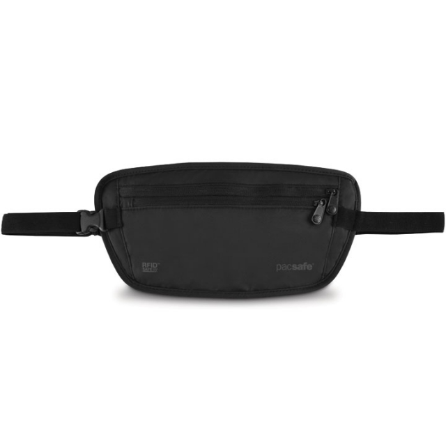 Pacsafe - Pacsafe RFIDsafe 100 RFID-blocking Waist Wallet