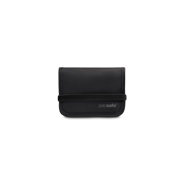Pacsafe - RFIDtec 50 Blocking Compact Bi-Fold Wallet - Black