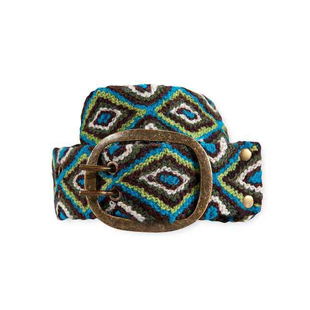 Pistil - Jolie Belt - Women's: Turquoise, Small