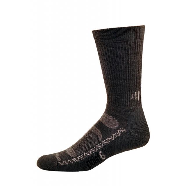 Point6 - Active Medium Crew Sock - Gray - Small