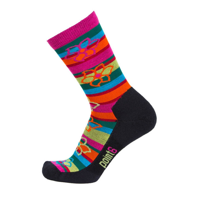 Point6 - Bolivian Stripe 3/4 Crew Sock