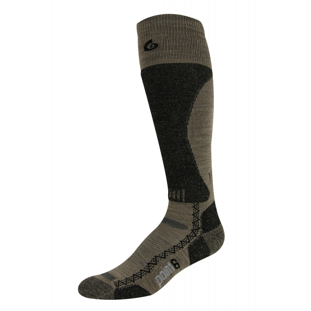 Point6 - Boot Tech Light Over-the-Calf Sock - Taupe - Large