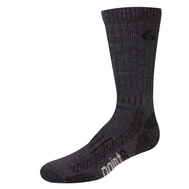 Point6 - Boot Tech Extra Heavy Crew Sock - Gray - Medium