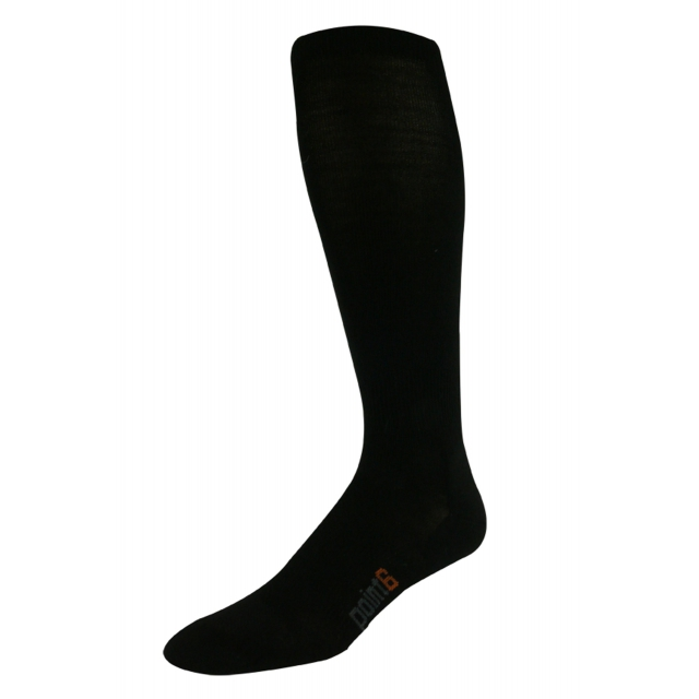 Point6 - Lifestyle Ultra Light Over-the-Calf Sock - Black - Large