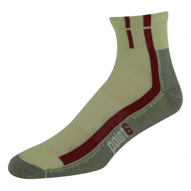 Point6 - Cycling Velo Ultra Mini Crew Sock - Men's Natural Large