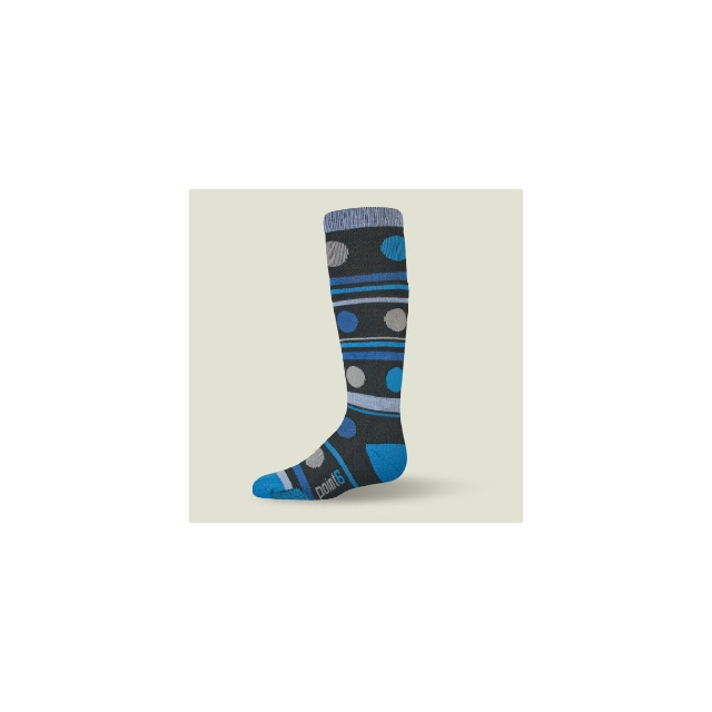 Point6 - Gum Drop Sock Kids', Black, L