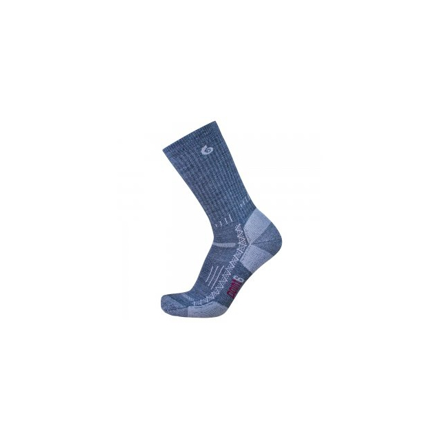 Point6 - Medium Crew Sock Kids', Gray, L
