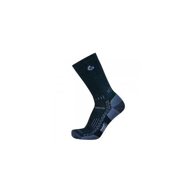 Point6 - Light Crew Sock Kids', Black, L