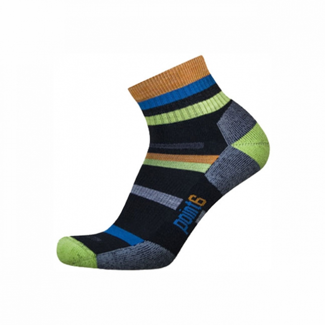 Point6 - Point 6 Mixed Stripe Light Weight Mini Sock