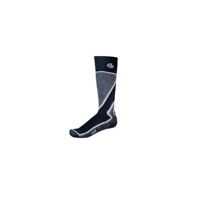 Point6 - Medium Ski Sock Men's, Black, M