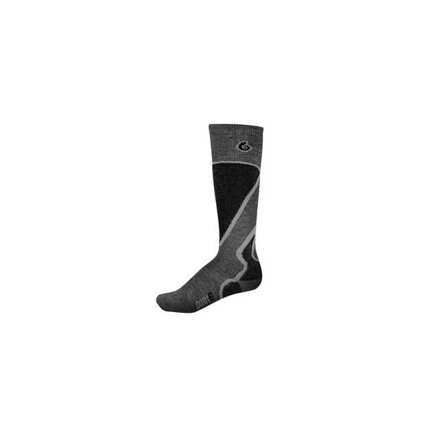 Point6 - Pro Light Ski Sock Men's, Gray, L