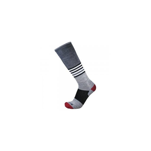 Point6 - Medium Wild Child Sock Adults', Stone Grey, L