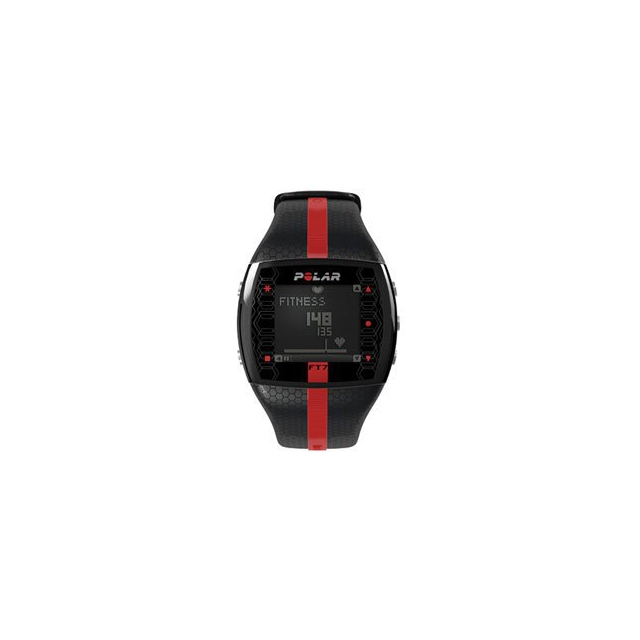 Polar - FT7M Heart Rate Monitor - Black/Red