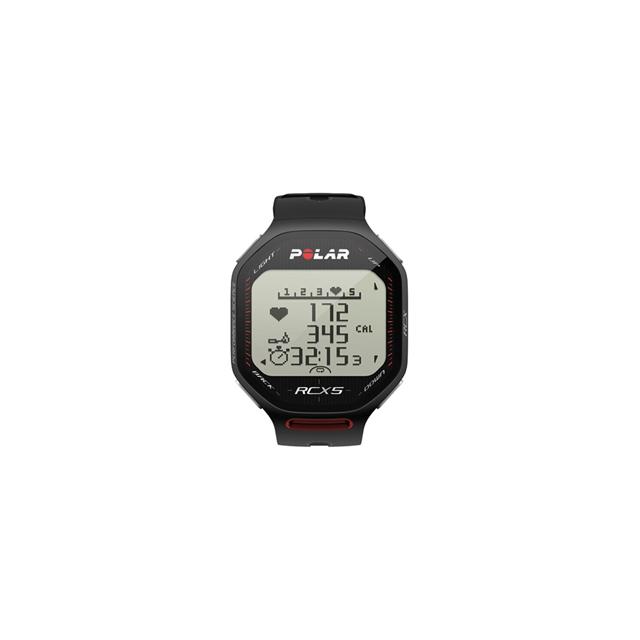 Polar - RCX5 Heart Rate Monitor - Black
