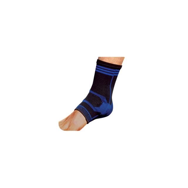 Pro Tec - Pro-Tec Gel Force Ankle Support - Black In Size: Small